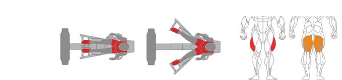 Máy ép đùi ngoài Plus X J300 - 13