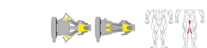 Máy ép đùi trong Plus X J400 - 14