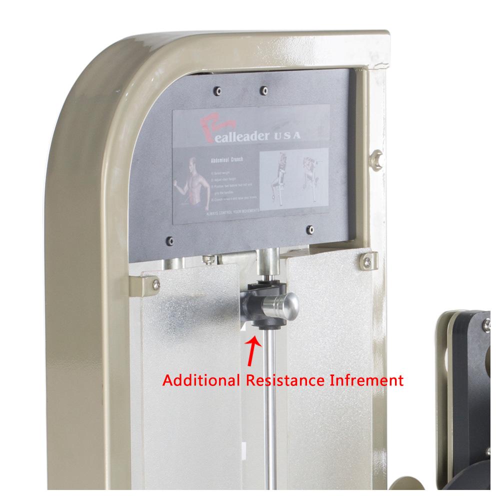 Máy gập bụng cổ điển RLD M2AJ - 1008