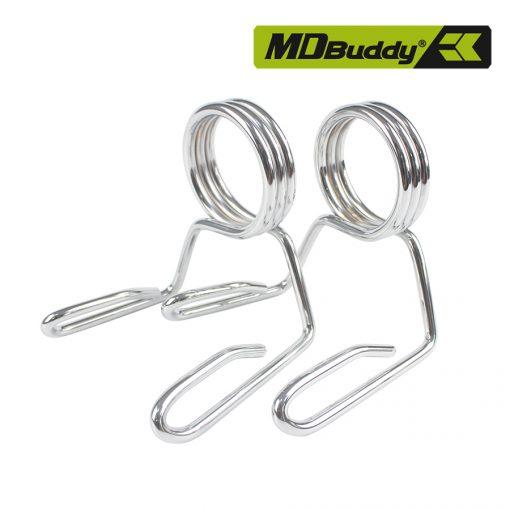 Bộ 2 khóa tạ lò xo chính hãng MDBuddy MD4033 (1 cặp)