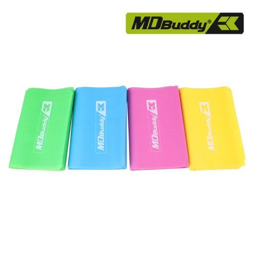 Bộ 4 dây đàn hồi tập thể dục MDBuddy MD1318