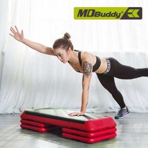 Bục tập Aerobic MDBuddy MD1703A chất liệu PE