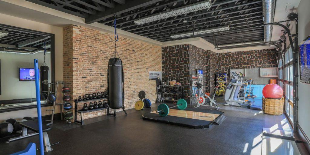 phòng gym tại nhà